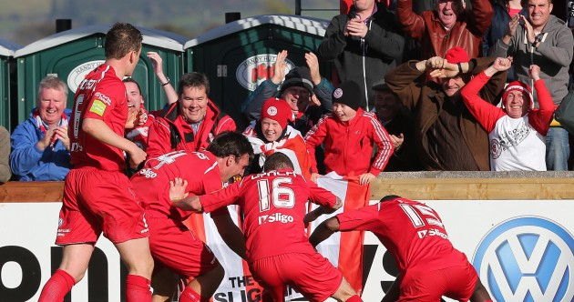 In pictures (and tweets): Sligo are the League of Ireland champions!