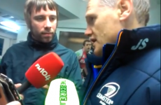 VIDEO: Joe Schmidt interview after Leinster's 59-22 win