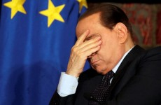 55 pictures of Silvio Berlusconi looking sad, glum, or generally displeased