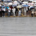 If you're inside right now, you can be thankful you're not on a crowded street, trying to save your eyes from being gouged out by an umbrella. 