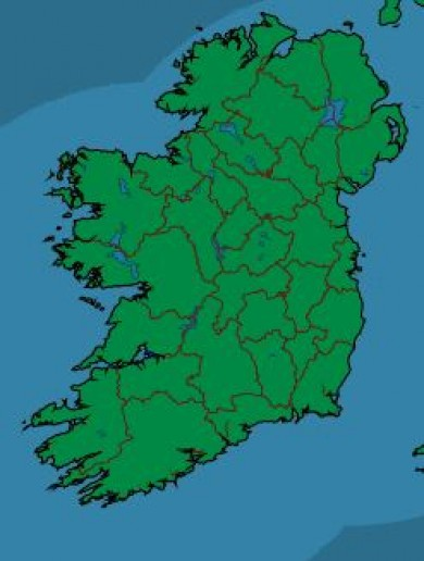 This is unprecedented: It's not raining ANYWHERE in Ireland right now
