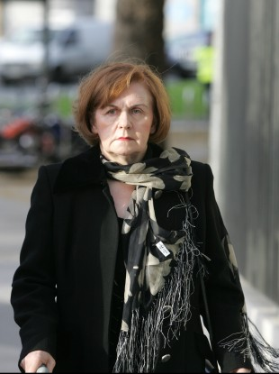 Perrin outside court on 20 November.