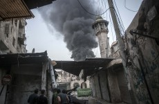 Car bomb kills 50 in Syria as air strikes pound rebels