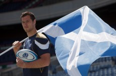 Going Dutch: Scotland's Tim Visser eyes All Black upset ahead of home debut
