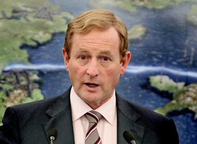 Enda Kenny's Fine Gael has seen its support slide significantly in the last month - ahead of a tricky Budget.