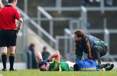 Donaghy waits on injury scan