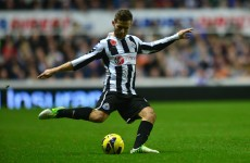 VIDEO: Newcastle midfielder Yohan Cabaye scores a belter against Aston Villa