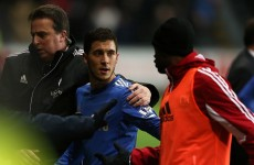 Ball boy-gate: Players back Hazard over scuffle