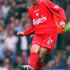 Aged 35, the Scottish international made a surprise move to Merseyside and helped them to the treble of an FA Cup, League Cup and UEFA Cup the following season.