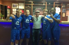 Spotted! Darron Gibson and Everton mates train at Matt Macklin's gym in Marbella