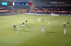 VIDEO: Dubliner Graham Carey scored an absolute thronker for St Mirren last night