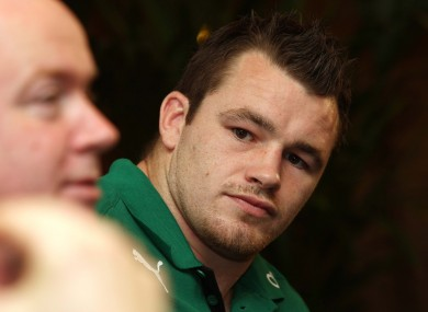 Declan Kidney will be without Cian Healy's services in Scotland.