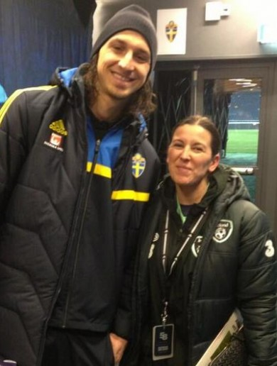 When Manuela met Zlatan…