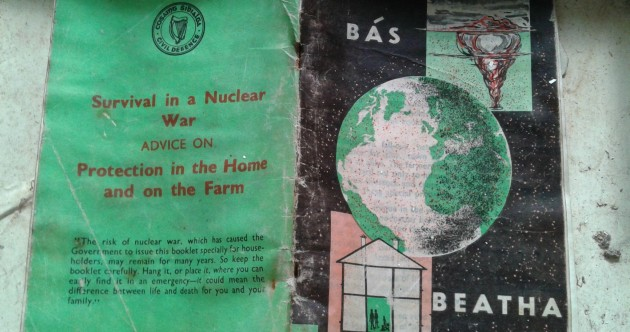 Irish Nuclear Survival Booklet Pic of the Day