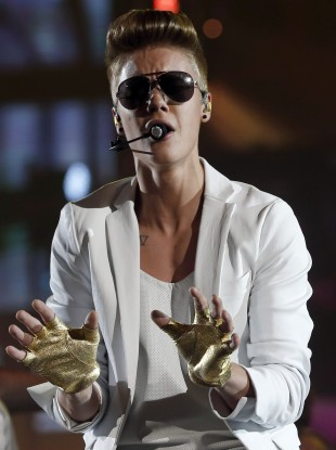 Canadian singer Justin Bieber (file photo)