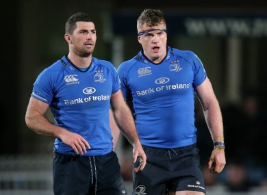 Rob Kearney and Jamie Heaslip are on the fringes of Lions selection.