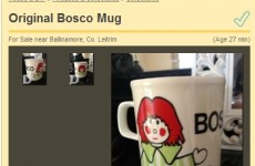 BARGAIN OF THE DAY: Vintage Bosco mug