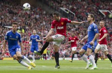 Late Mata goal sees Chelsea defeat United