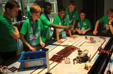 Dublin boys win Lego award for robot reminding people to take medicines