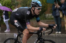 Knees up for Froome as crocked Wiggins ruled out of Tour de France
