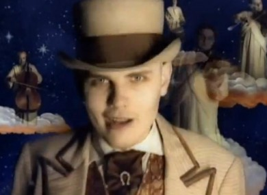 Billy Corgan in the Tonight, Tonight video