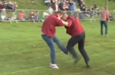 The shin-kicking championships looks as painful as it sounds