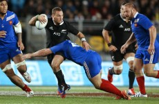 All Black defence secures another win over France