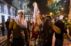Less than a year to World Cup, Brazil rocked by massive protests