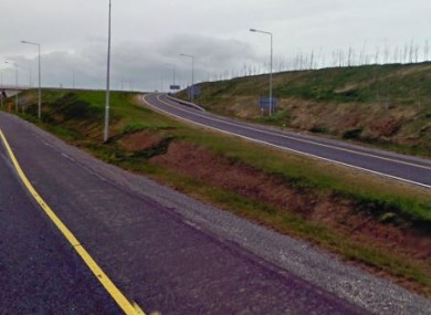 The M4 at Kinnegad (File photo)
