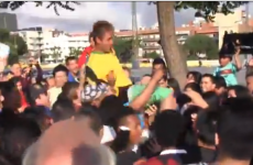 Neymar lookalike gets mobbed by Barcelona fans outside the Nou Camp