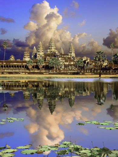 Laser technology reveals ancient city under Cambodian earth