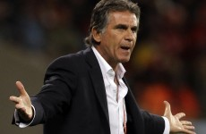 Carlos Queiroz sparks crowd fury with 'obscene gesture' as Iran seal World Cup spot