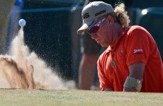 Hard-living Jimenez takes halfway lead at The Open