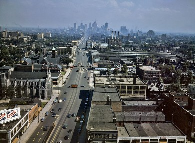 Woodward Avenue in Detroit, Michigan (File photo)