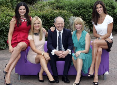Jeff Ford, TV3 Director of Content, with the Xposé team, from left, Lisa Cannon, Karen Koster, Aisling O'Loughlin and Glenda Gilson