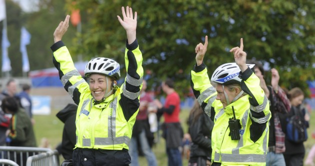 12 examples of Gardaí being sound at music festivals