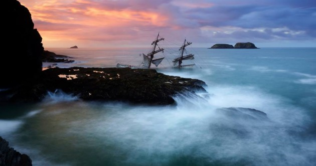What happens when a ship … becomes a wreck?