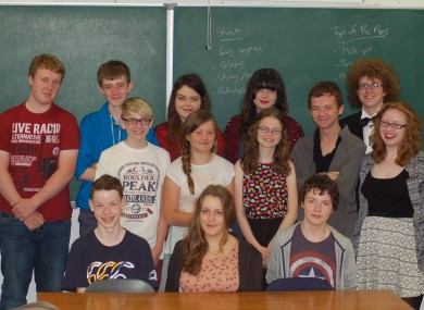 The Journalism class in CTYI