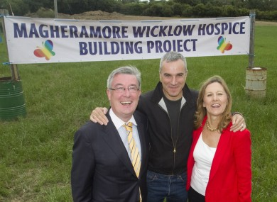 Daniel Day Lewis at the Hospice site today