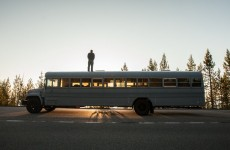 Student makes inventive use of a school bus to take a holiday