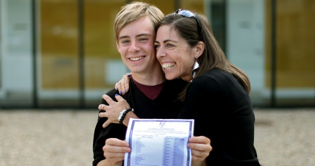 In pics: The guy that got 9 A1s and other Leaving Cert students' results