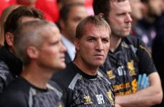 Arsenal lack class, says Brendan Rodgers