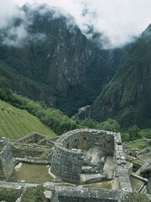 While Inca sites like this at Macchu Picchu in Peru are well-known, drones are helping monitor newly-discovered and less-accessible ruins.