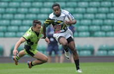 World's fastest rugby player scores epic 90-metre try