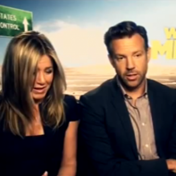 So Tubes from Soccer AM met Jennifer Aniston and Jason Sudeikis the other day…