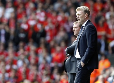 David Moyes will go head-to-head with Brendan Rodgers for the first time as Manchester United manager this weekend.