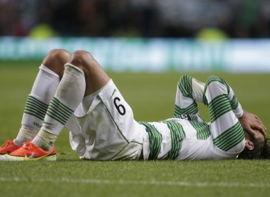 Celtic's Georgios Samaras was blunted in attack.