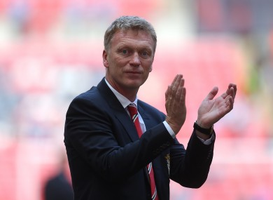 David Moyes: no major signings for the new boss yet.