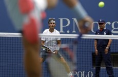Rafa Nadal has already hit a real contender for shot of the US Open