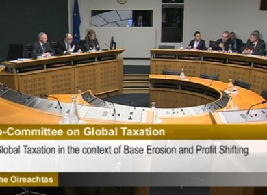 The meeting of the Joint Sub-Committee on Global Taxation